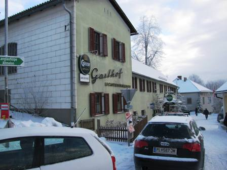 Start im Gasthaus Lichtenwallner in Altmelon